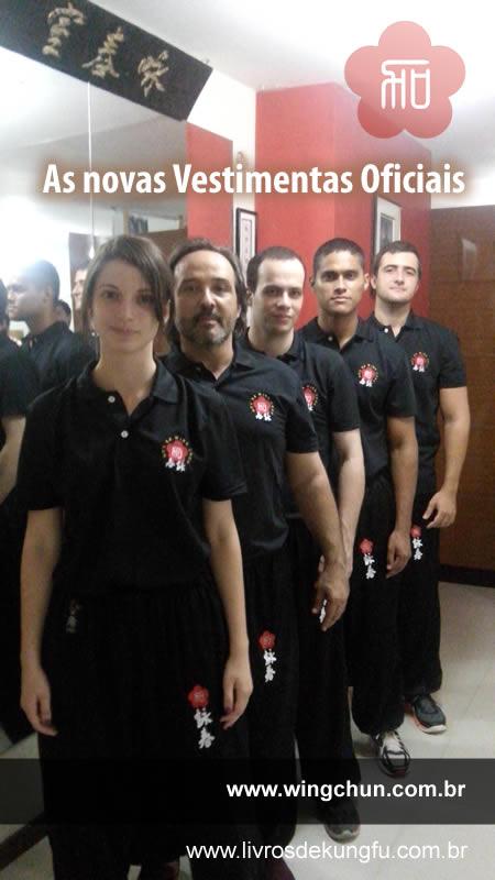 Os Zai Fuk 制服 Oficiais da Moy Ka Wing Chun
