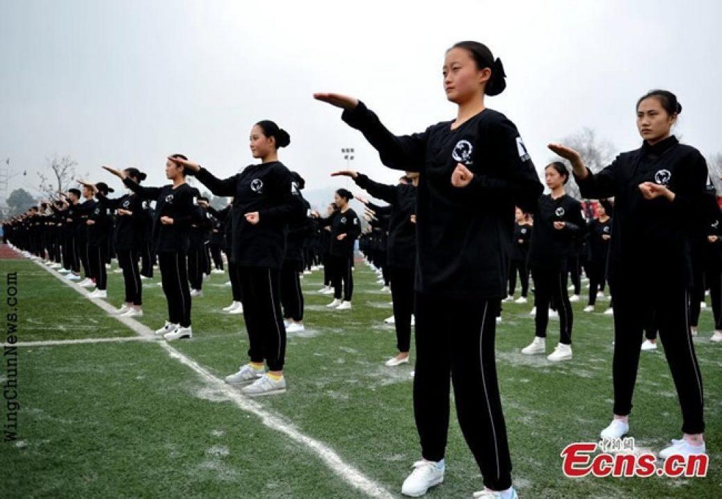 A Maior exibição de Wing Chun do Mundo