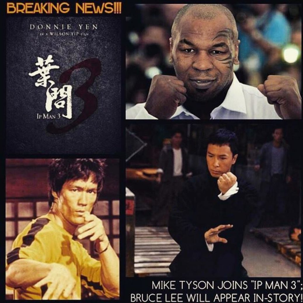 Ip man, Mike Tyson e Bruce Lee Juntos?