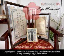 Mestres do Ving Tsun – Sifu Monnerat e Mestre Lee Tat Yan