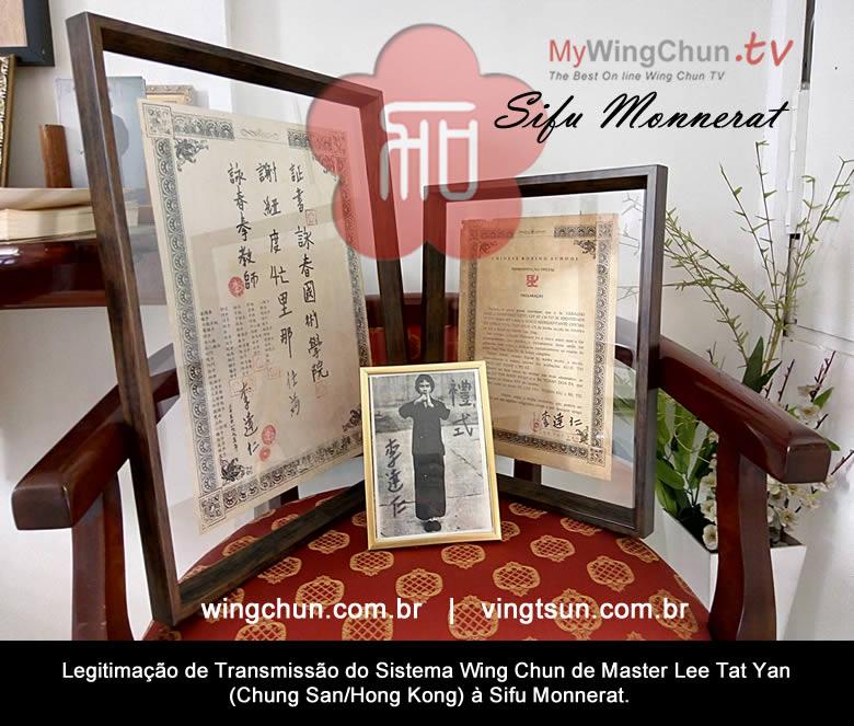 mestres do ving tsun - mestre ving tsun brasil sifu monnerat - Mestres do Ving Tsun – Sifu Monnerat e Mestre Lee Tat Yan